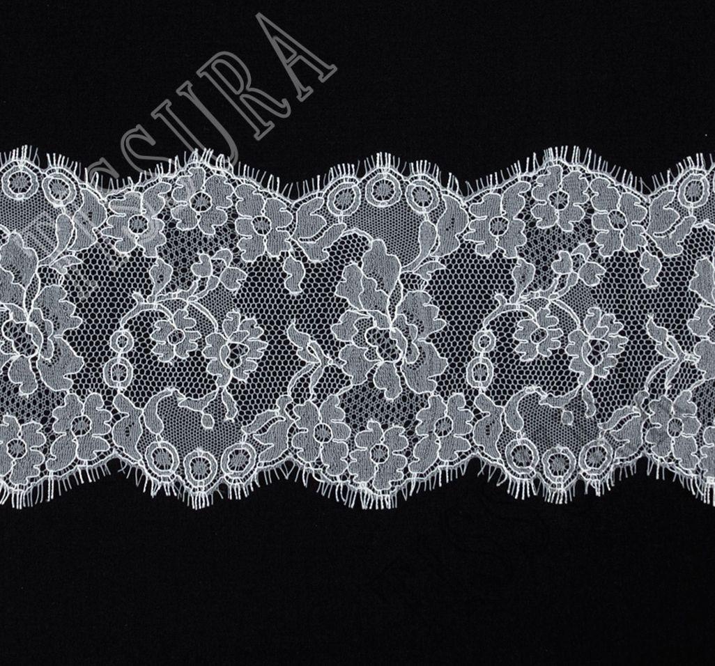 Black Solstiss Lace Trim Eyelashes lace.