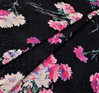 Viscose & Cotton Jacquard