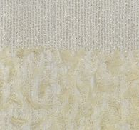 Feather Sequin & Bead Embroidered Tulle #1