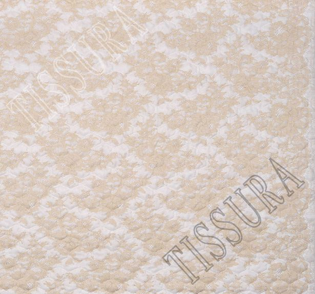 Lace Padded Fabric #4