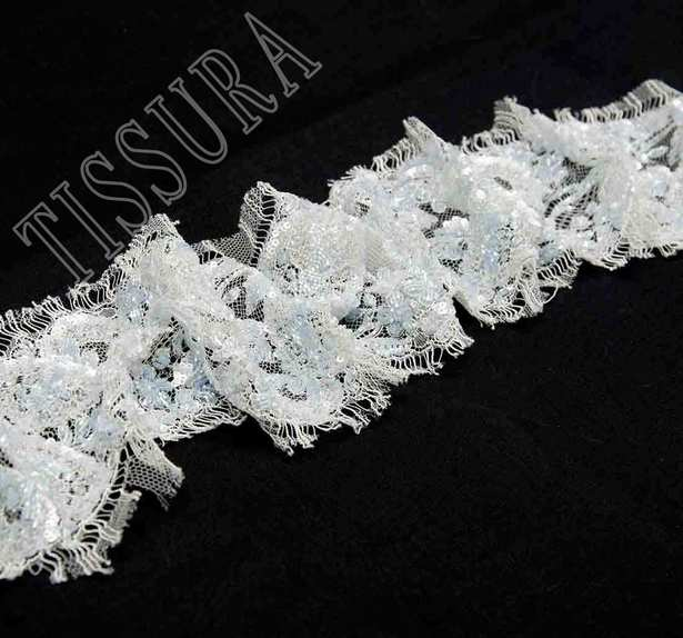 Sequined Beaded Lace Trim #1