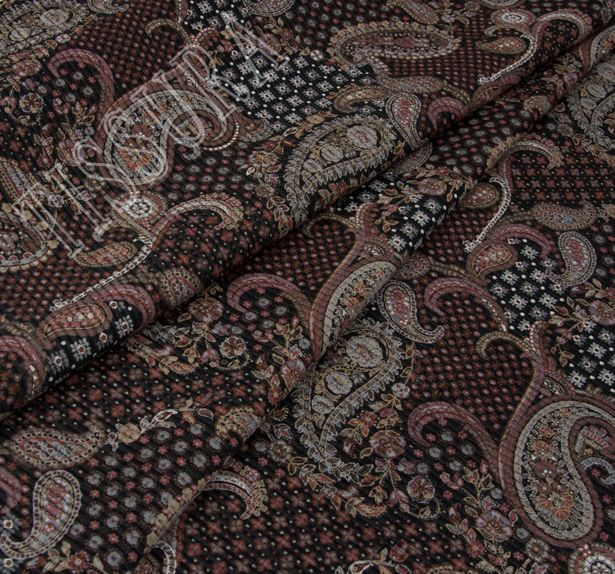 Wool & Silk Jacquard #3