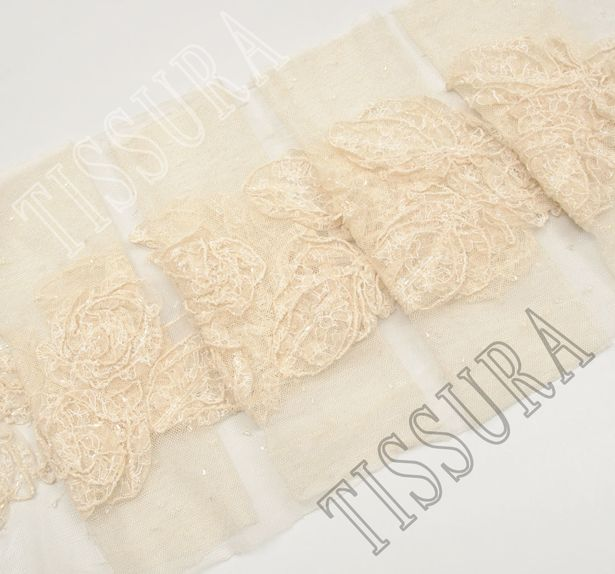 Embroidered Lace Trim #3