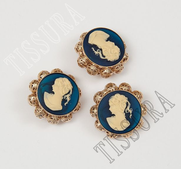 Cameo Buttons #1
