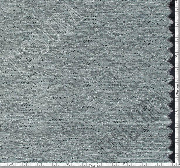 Metallic Pleated Lace #2
