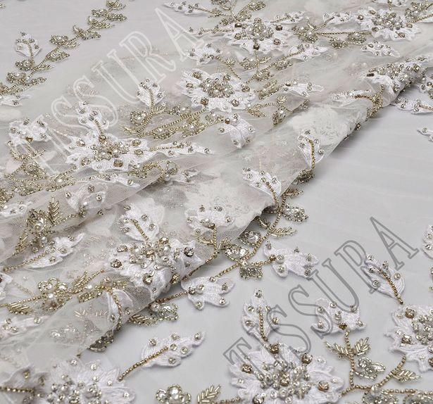 Swarovski Embroidered Tulle #5
