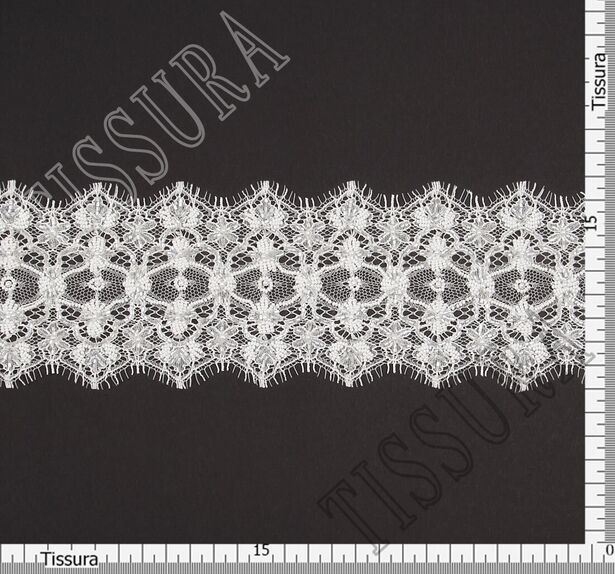 Embroidered Lace Trim #2