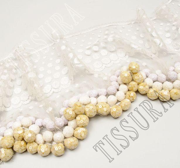 Sequin Ball Lace Trim #3