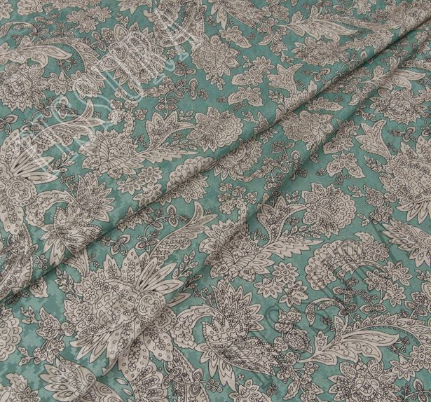 Wool & Silk Jacquard #1