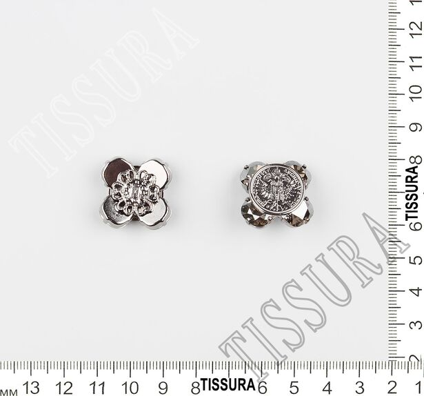 Rhinestone & Metal Buttons #2